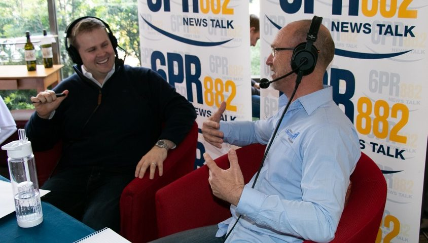 Listen to 6PR's Tuart Lakes Radio Broadcast, Perth Live with Oliver Peterson