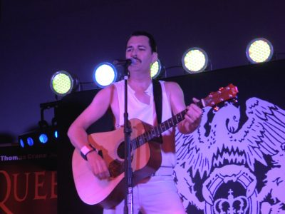 Freddie Mercury WOWs the crowd at Tuart Lakes' Queen Tribute Concert